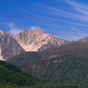北アルプス白馬三山の紅葉