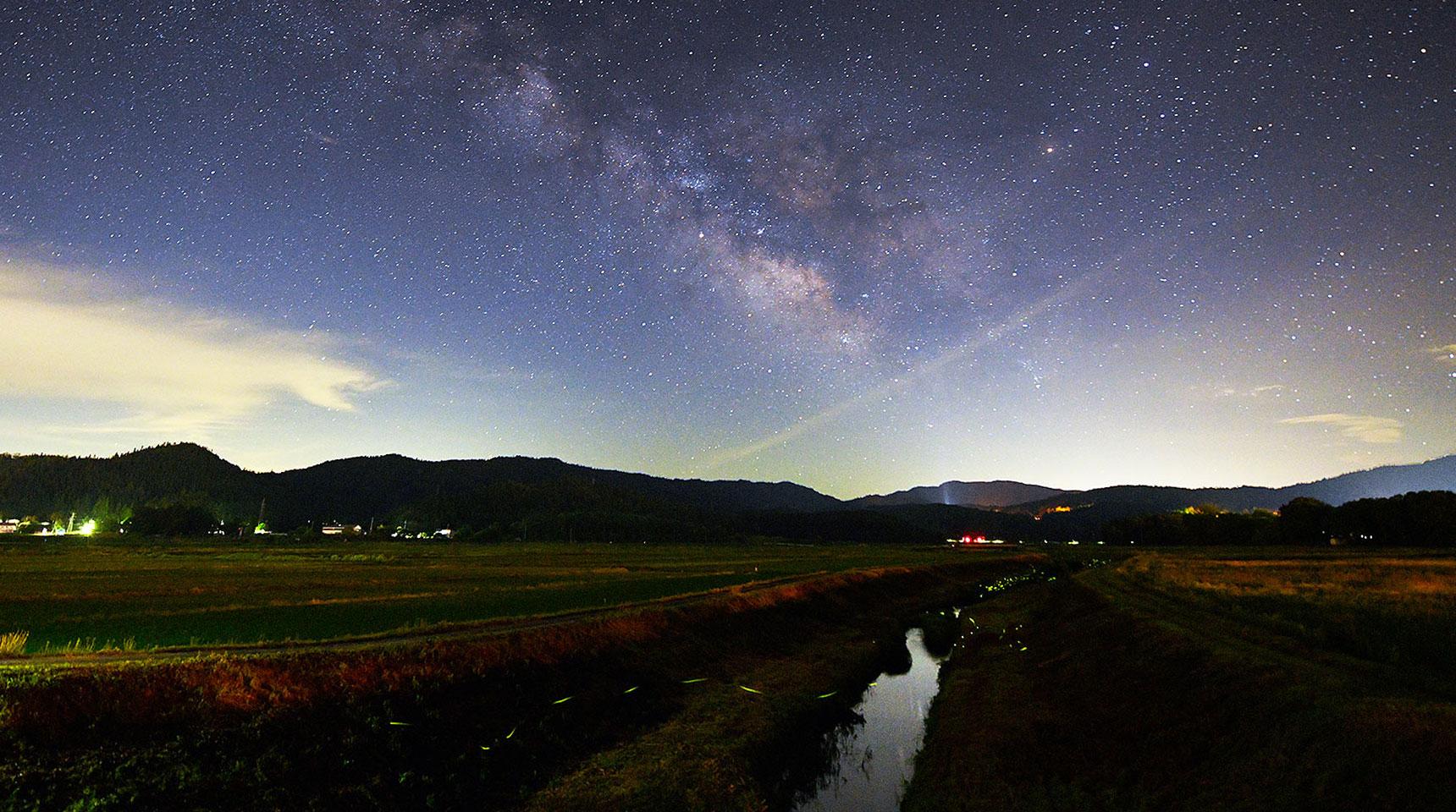 スライド169 姫川と夏の銀河